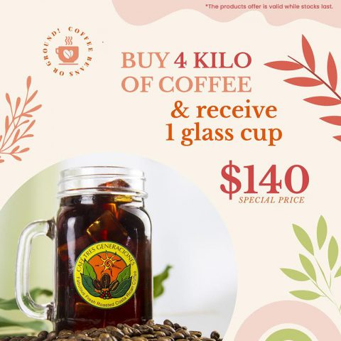 BUY 4 Kilos and Receive 1 glass jar